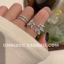 Sterling Silver Rings for Women Cute Zircon Round Geometric 925 Silver Wedding Fine Jewelry Minimalist Gift Women Rings недорого