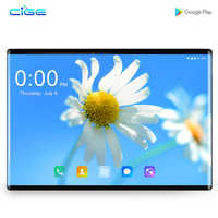 DHL Free 10 inch 2.5D Glass Tablet PC Android 8.1 Octa Core 4G LTE 6GB RAM 64GB ROM 1280*800 IPS A-GPS Tablets 10 10.1+Gifts