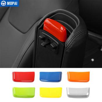 MOPAI ABS Car Interior Armrest Switch Decoration Cover Stickers Accessories for Jeep Renegade 2015 Up Car Styling