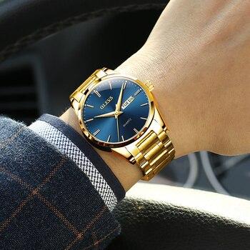 Gold Steel Blue