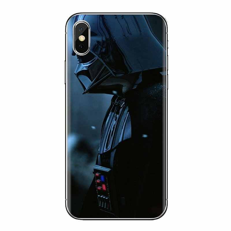 Para Xiaomi rojo mi 4 3 3S Pro mi 3 mi 4 mi 4i mi 4C mi 5 mi 5S mi Max Note 2 3 4 Darth Vader Ninja escultura de madera suave transparente fundas