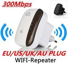 Sem fio wifi repetidor extensor alcance roteador wi-fi amplificador de sinal 300mbps wifi impulsionador 2.4g wi fi ponto acesso ultraboost