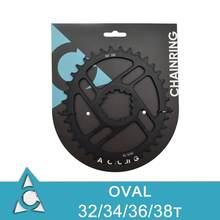 3mm offset mtb montagem direta anel de corrente oval estreito largo AL7075-T6 32 t/34 t/36 t/38 t para roda dentada sram gxp