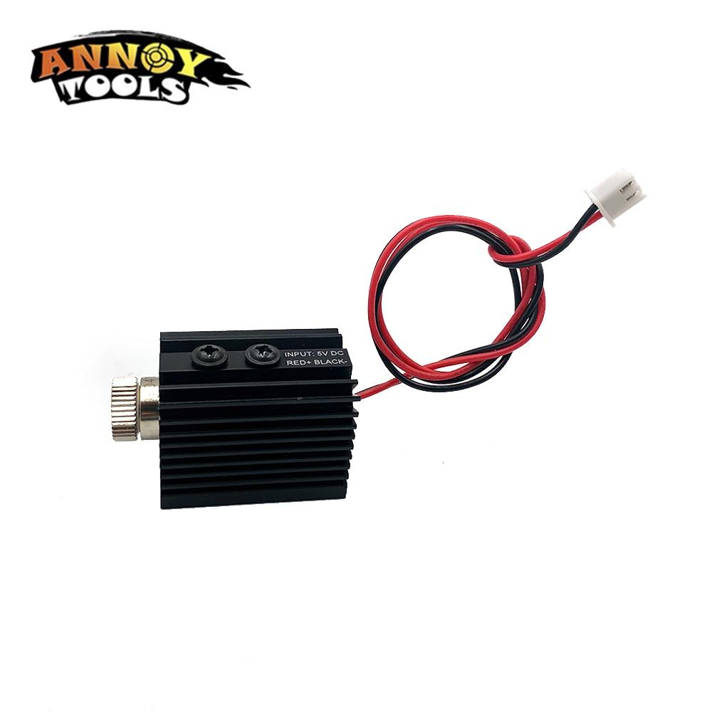 1000mW 1500MW 405nm Accesorio de grabador de módulo láser de cabeza - Piezas para maquinas de carpinteria - foto 3