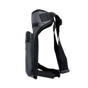 Image 4 - Men Nylon Motorcycle Hip Belt Waist Fanny Pack Riding Travel Shoulder Messenger Crossbody Bags Thigh Drop Leg Bag