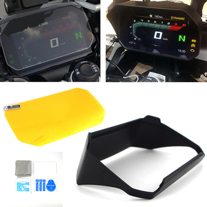 MOTO Instrument Hat Sun Visor Meter Cover Guard Screen Protector For BMW R1200GS LC Adventure R1250GS LC/Adv F750GS F850GS C400X(China)