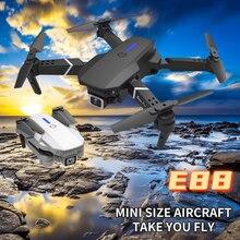 Dron profesional 4k con cámara FPV y WiFi, Drone cuadricóptero con visión en primera persona, 2021 p, E88, 1080