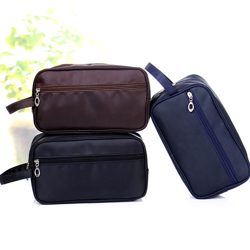 2019 Men Women Wash Bag Cosmetic Bags Admission Package Travel Pouch Simple Waterproof Toiletry Kits 602315