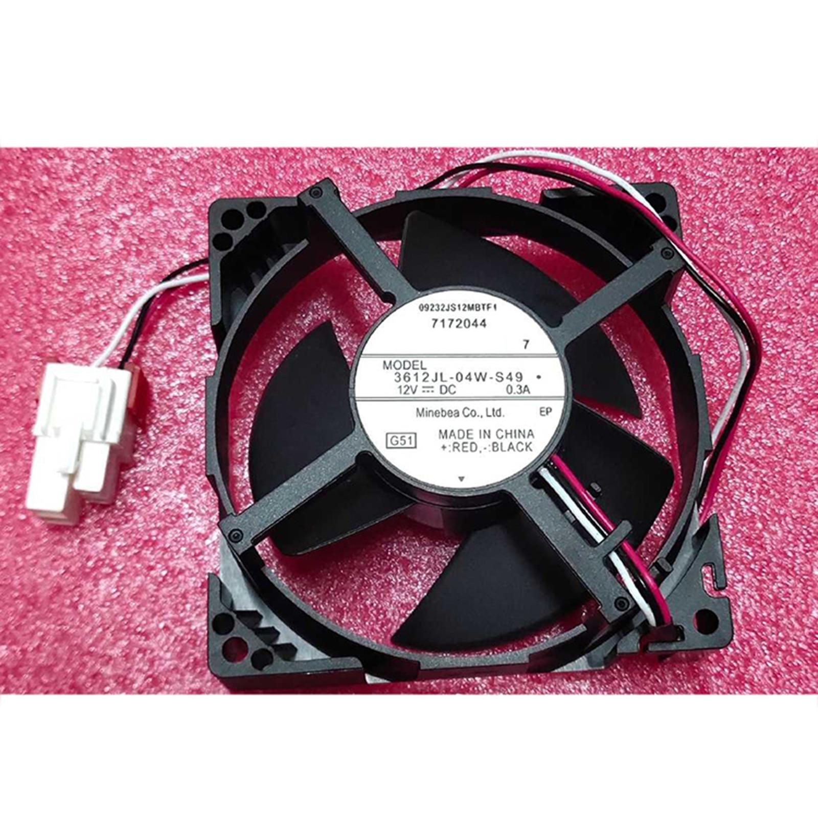 لسامسونج الثلاجة التبريد مروحة NMB-MAT 3612JL-04W-S49 12V 0.3A 9.2 سنتيمتر لسامسونج الاكسسوارات الثلاجة