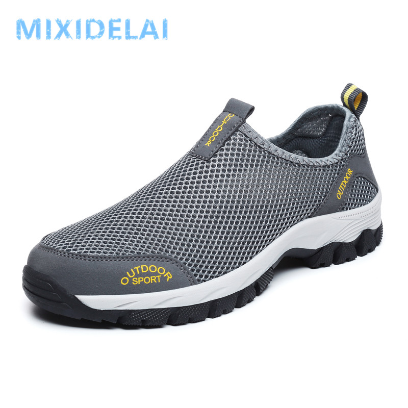 2020 Summer Casual Mens Shoes Mesh Breathable Shoes Men Light Comfortable Soft Outdoor Sneakers Zapatillas Hombre Big Size 39-48