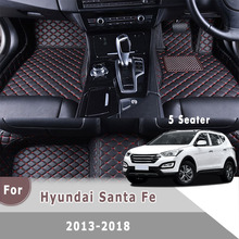 Rhd-Carpets Covers Car-Floor-Mats Auto-Interiors-Accessories Santa Fe Hyundai for Rug