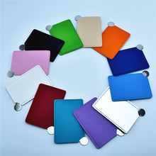120PCS customize,logo print Cosmetic mirror Stainless steel indestructible small