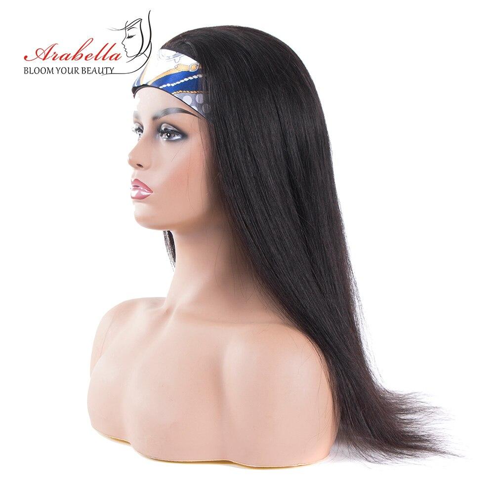 Headband Wig 100%  Wigs  Hair Arabella Full Machine Made Wig Easy to Install  Glueless Wig 1