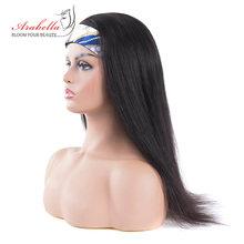Бразильский парик с головной повязкой 100% человеческие волосы