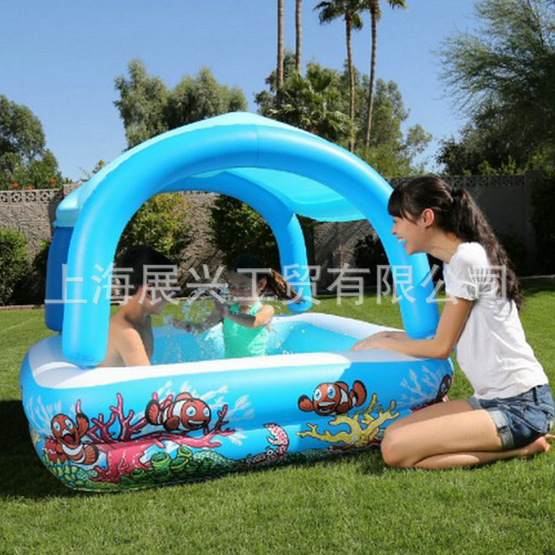 Square Inflatable <font><b>Pool</b></font> Removable Inflatable <font><b>Pool</b></font> Children Play with <font><b>Water</b></font> Inflatable <font><b>Pool</b></font> image