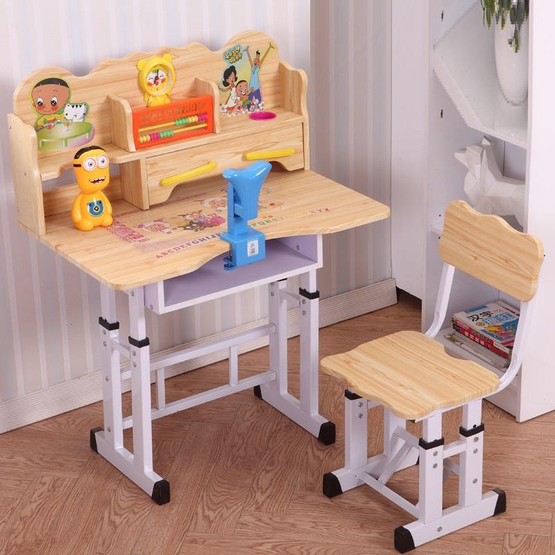 Children And Chair Play Baby Silla Y Infantiles Tavolino Bambini Adjustable Bureau Enfant For Mesa Infantil Kids Study Table