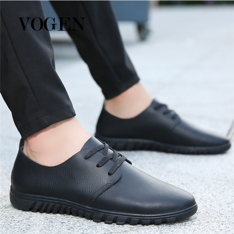 Male Shoes Adult Slip Shoes Leather Krasovki Men Winter Warm Shoes Spring And Autumn Man Shoes Leather Genuine 2019