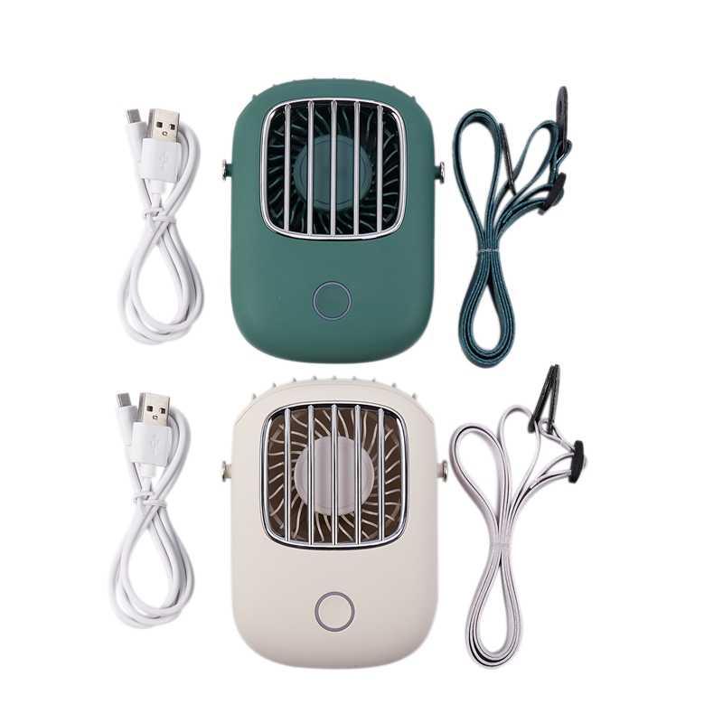 Мини-вентилятор USB, портативный подвесной вентилятор громкой связи, офисный Настольный вентилятор с подставкой, портативный Перезаряжаемый маленький вентилятор для путешествий