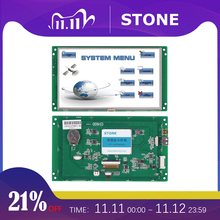 7 inch Serial LCD Display Module with Program + Touch Screen for Equipment Control Panel STVC070WT 01