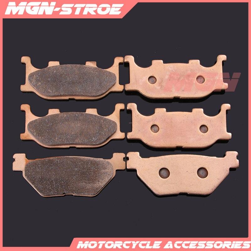 Motorcycle metal sintering brake pads For T-MAX500 TMAX500 TMAX 500 XP500 2001 2002 2003 01 02 03