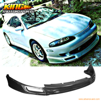 Fit For  95-96 JDM Sport Style Front Bumper Lip Spoiler Urethane Mitsubishi Eclipse