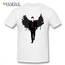 Lucifer T Shirt Morningstar T-Shirt Graphic Basic Tee Cute 100 Cotton Oversize Short-Sleeve Mens Tshirt