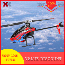 New Arrivals Xk K130 2.4g 6ch Brushless 3d6g System Flybarless Rc Helicopter Bnf For Futaba S-fhss