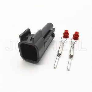 1/5/10/20 наборы EV6 к EV1 автомобильный водонепроницаемый мужской и женский 2 контактный топливный инжектор разъем форсунок метанол разъем для Ford Chevrolet|Соединители|   | АлиЭкспресс