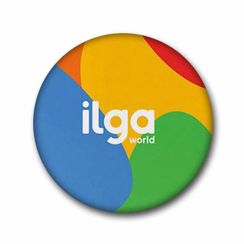 T1 LGBT Pride Arcobaleno Bandiera di Latta Distintivo Supporto Gay Lesbiche Bisexual Transgender Simbolo Spille Lgbt Icone Rozet Spilla
