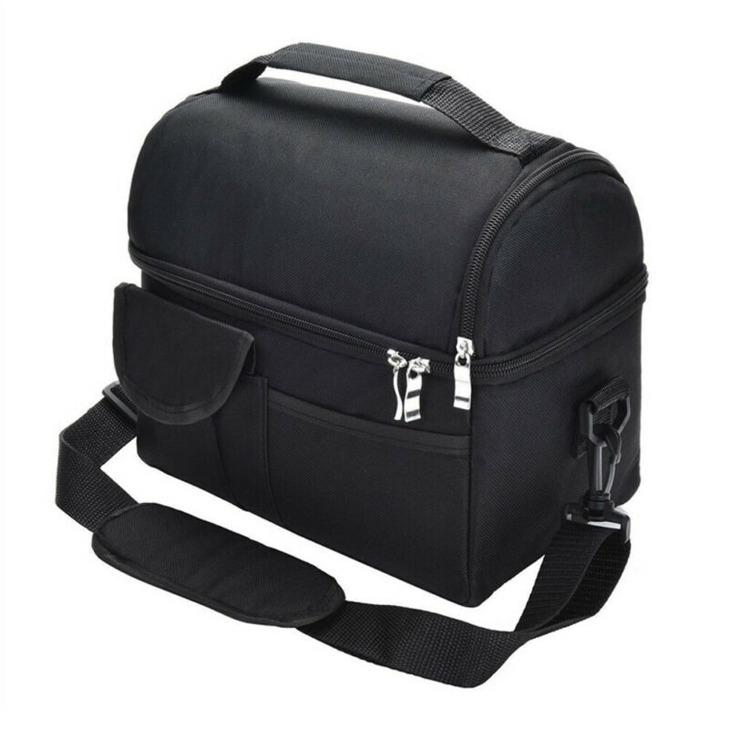 Adult Kids Portable Insulated Lunch Bag Work Picnic Bag Food Storage Lunchbox 8L /BL15