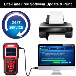 Image 5 - KONNWEI OBD OBD2 Automotive Scanner Fault Code Reader With Multi language ODB2 Car Diagnostic Tool Auto Scanner BEST OBD 2 KW850