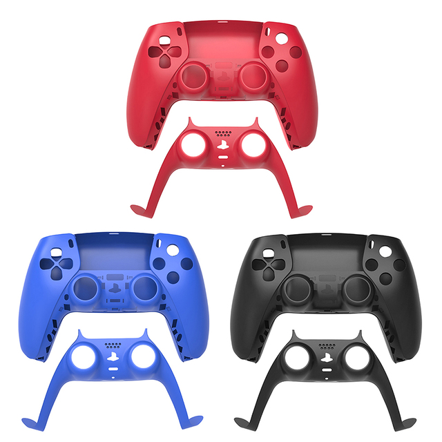 ABS Replacement Controller Shell for PlayStation 5 PS5 Controller Gamepad DIY Front Cover Back Cover for DualSense