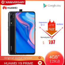Original HUAWEI Y9 Prime Mobile phone 4G RAM 128GB ROM Kirin710 Smartphone 6.59