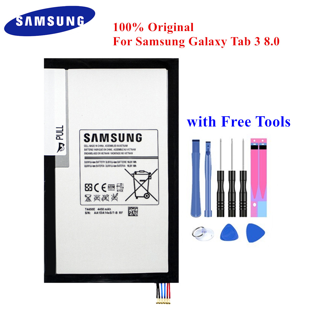 New T4450E Battery  4450mAh for Samsung Galaxy Tab 3 8.0 SM-T310 T311