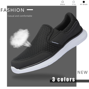 Image 3 - Zapatos de marca para hombre, zapatillas ligeras y transpirables, calzado masculino de alta calidad, zapatos informales de talla grande 49 50