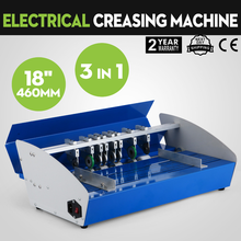 460mm Electric Folding Machine A3 Paper Creaser Scorer and Perforator Paper Cutter Perforating Machine Paper Creasing Machine цена