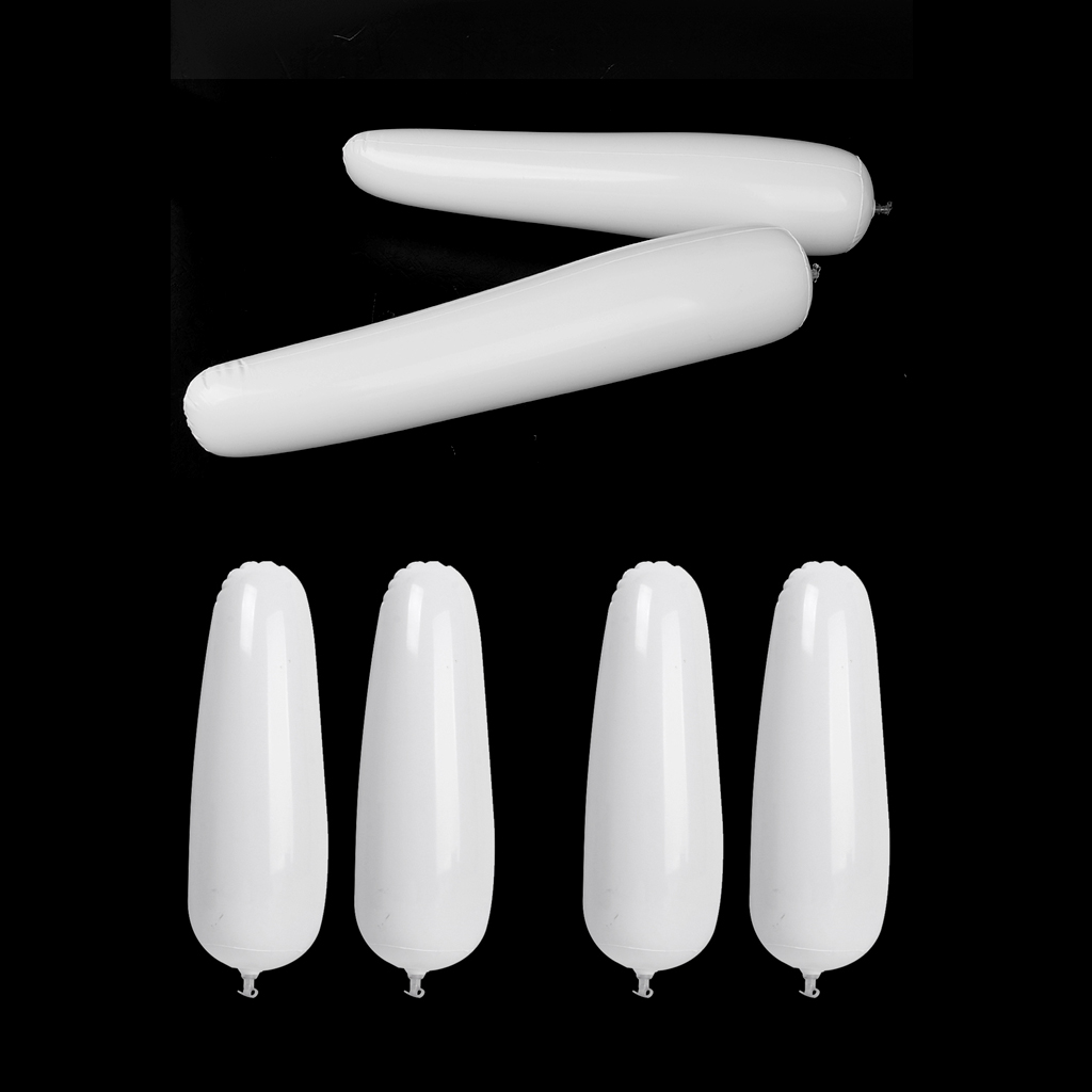 3 Pairs White Inflatable Shoes Stretcher Boots Insert Shaper 50cm 32cm Tall Shoes Rack Support Inflatable Long Women Shoe Tree