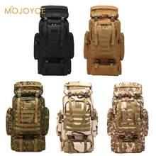 Waterproof Oxford Tactical Backpack Military Backpack Waterproof Army Rucksack Outdoor Camping Hiking Fishing Large Capacity Bag(China)