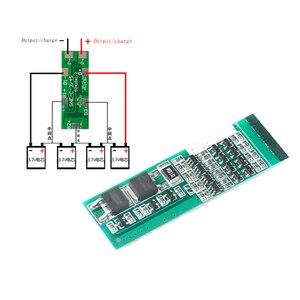 4S 8А полимерный литий-ионный аккумулятор зарядное устройство Защитная плата для 4 Серийный 4 шт 3,7 литий-ионный зарядный защитный модуль B