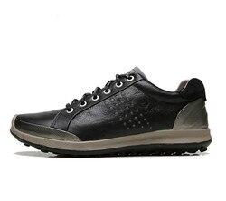 ECCO Männer Casual Schuhe Golf Schuhe Männer Elastische Band Walking Männer Leder Schuhe 151514 39-44