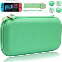 Милый зеленый чехол для nintendo switch Дорожный комплект переноски