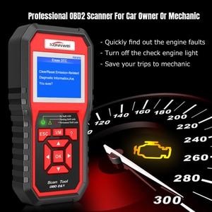 KW850 OBD2 Scanner Auto Diagno