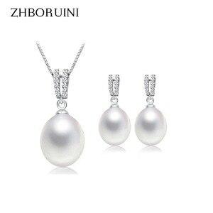 ZHBORUINI 2019 Pearl Jewelry S