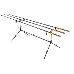 Image 5 - Lixada חכת דיג סטנד מתכוונן נשלף קרפיון דיג מוט Stand מחזיק דיג אביזרי כלים סוגר קרפיון עבור pesca