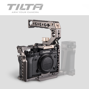 Image 4 - TILTA DSLR Camera Cage for Fujifilm XT3 X T3 and X T2 Camera Handle Grip fujifilm xt3 Cage Accessories VS SmallRig
