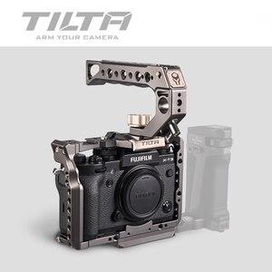 Image 4 - TILTA ramka do kamery DSLR do Fujifilm XT3 X T3 i X T2 uchwyt rękojeści aparatu fujifilm xt3 akcesoria do klatek VS SmallRig