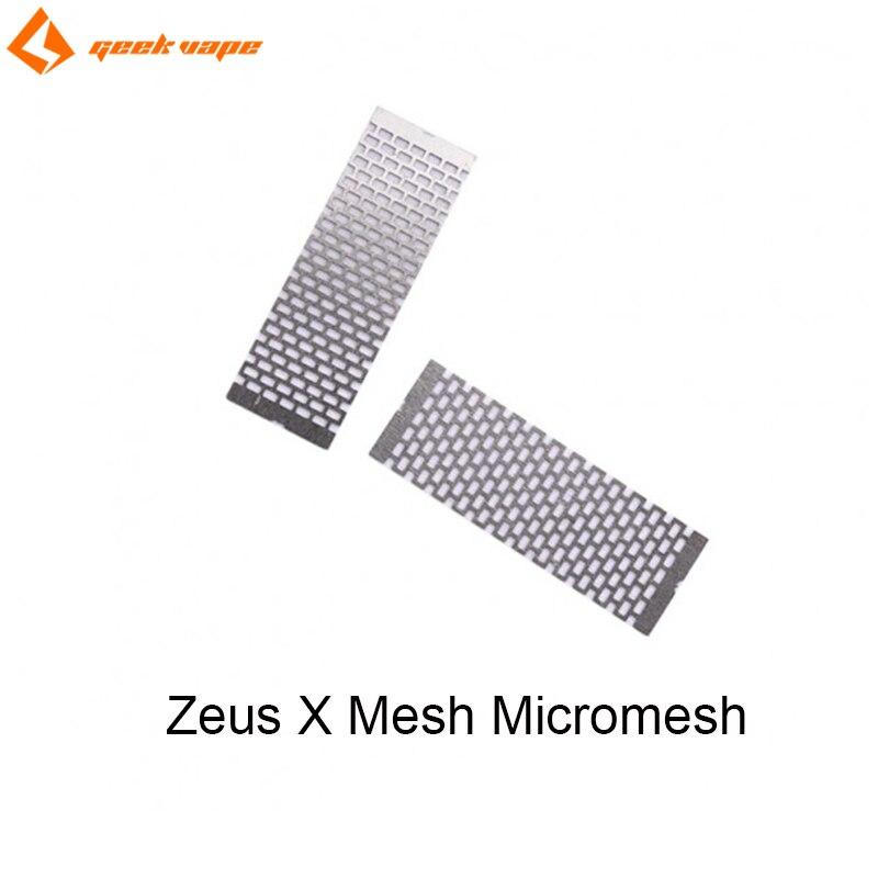 Original GeekVape Zeus X Mesh Micromesh 0.2ohm KTR/0.17ohm Ni80 Mesh Coil For E Cigarette For Zeus X Mesh RTA Tank 2pcs/pack