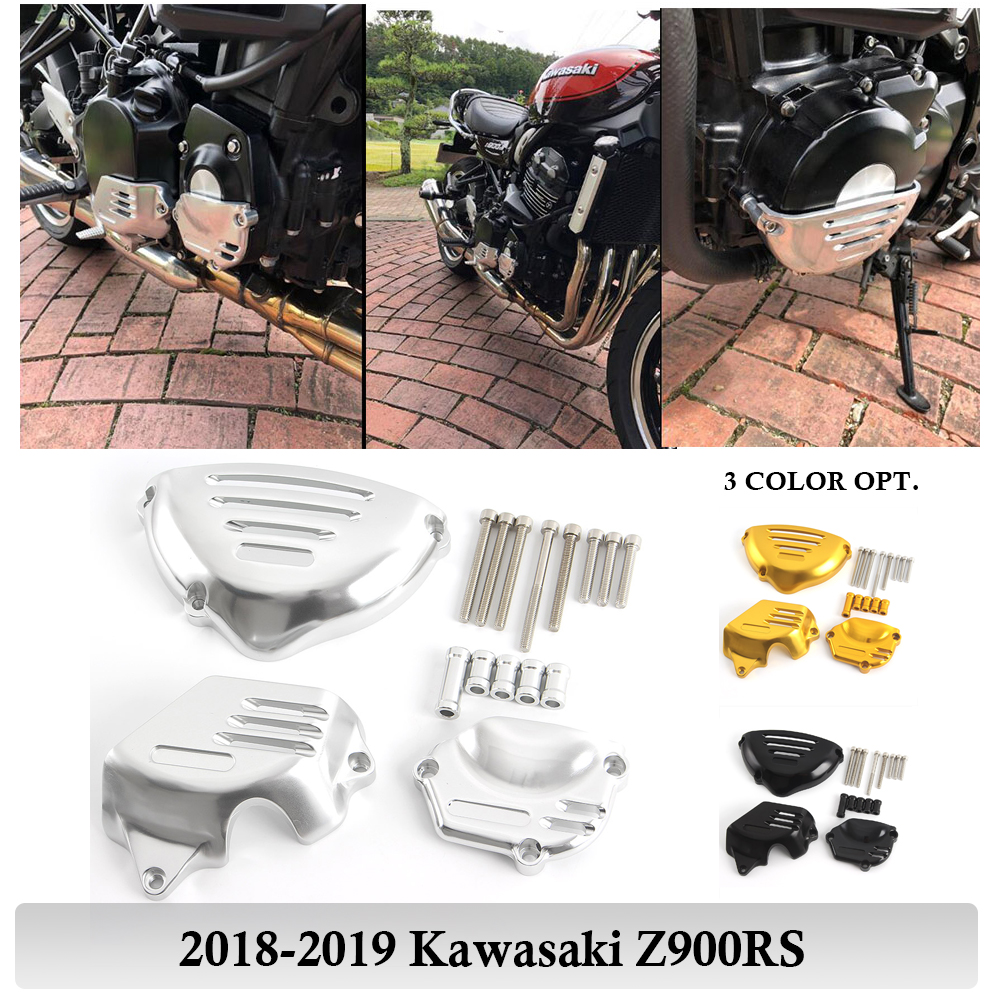 Z900 RS Engine Guard Cover Frame Slider Stator Protector Crash Pad For Kawasaki Z900RS 2018-2019 Z 900RS Motorcycle Accessories