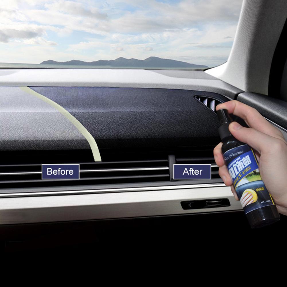 30ML Car Vehicle Wax Interior Restorer Dashboard Seat Glossing Maintenance Tool Restorer Dashboard