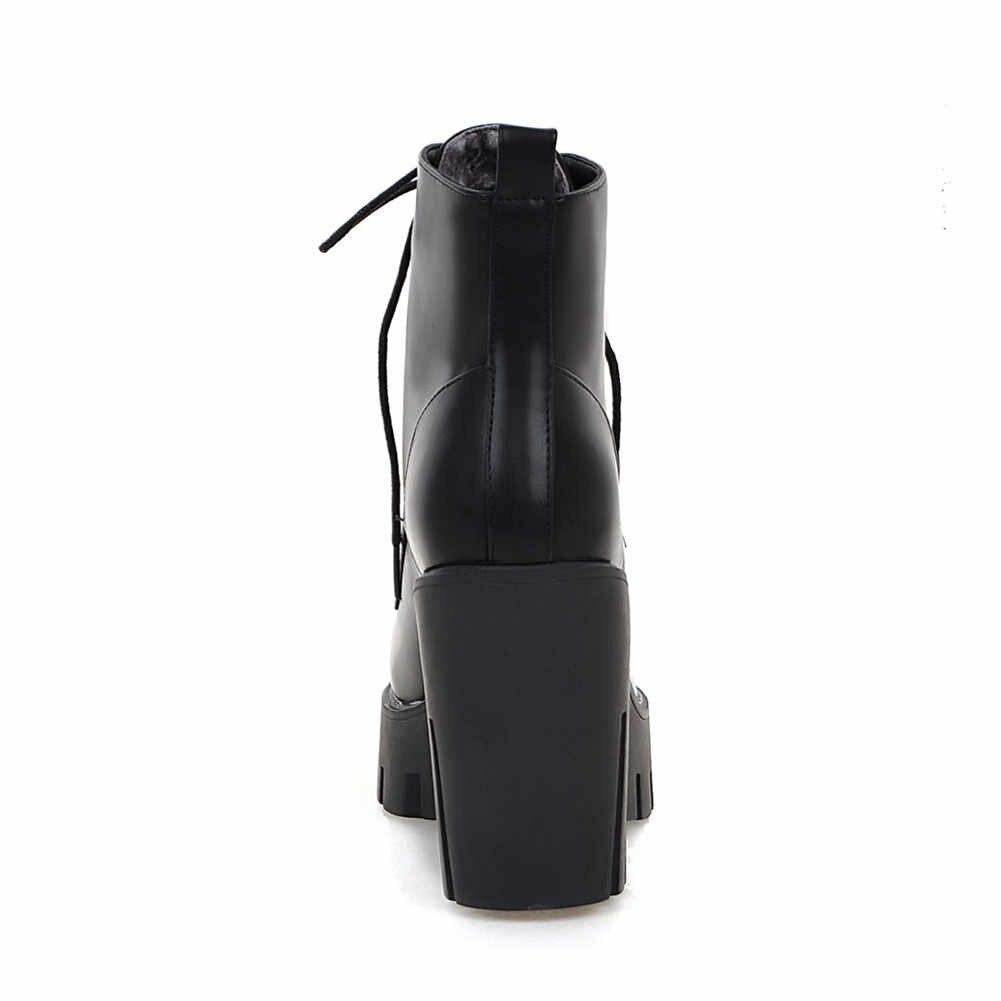 KARINLUNA 33-43 Elegant ชี้ Toe รองเท้าผู้หญิงแฟชั่นแพลตฟอร์มรองเท้าผู้หญิงส้นรองเท้าผู้หญิง